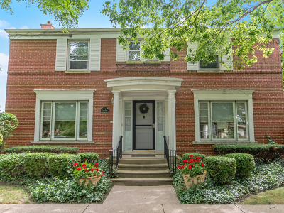 River Forest Single Family Home Price Change: 1446 Bonnie Brae Place