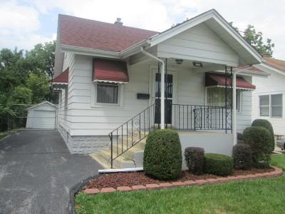 Steger Single Family Home For Sale: 3324 Halsted Street