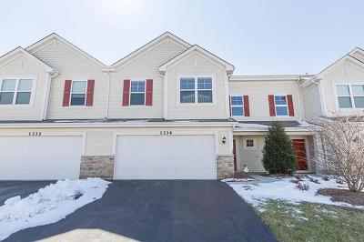 Pingree Grove Condo/Townhouse For Sale: 1334 Newport Court