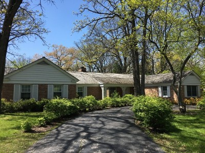 Lake Forest Single Family Home For Sale: 1120 Waveland Road