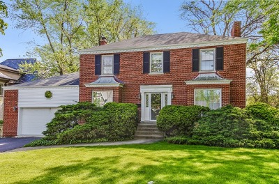 Hinsdale Single Family Home Contingent: 821 South Grant Street