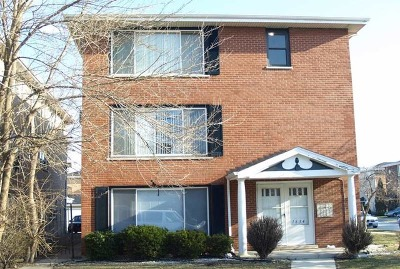 Calumet City Multi Family Home For Sale: 1634 Downs Drive