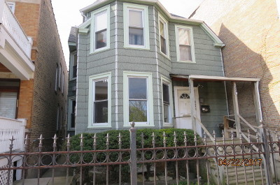 Chicago Multi Family Home Back on Market: 2521 West Montrose Avenue