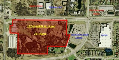 Residential Lots & Land For Sale: 18959+ West Grand Avenue