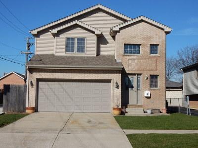 Chicago Ridge  Single Family Home For Sale: 11048 Menard Avenue