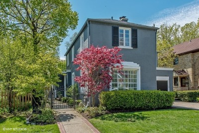 Wilmette Single Family Home Contingent: 1617 Greenwood Avenue