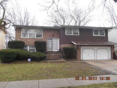 Sauk Village Single Family Home For Sale: 1628 215th Place