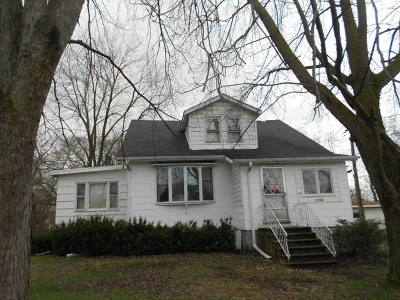 Thornton Single Family Home For Sale: 17300 Chicago Road