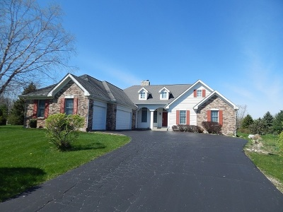 Hampshire Single Family Home For Sale: 14n958 White Pines Lane