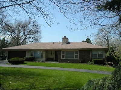 Willowbrook Single Family Home For Sale: 500 Ridgemoor Drive
