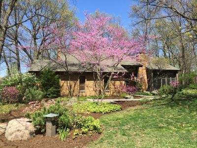 Burr Ridge Single Family Home Price Change: 105 Lakewood Circle