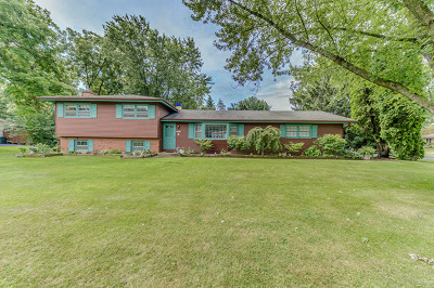 Naperville Single Family Home Contingent: 28w205 Hillview Drive