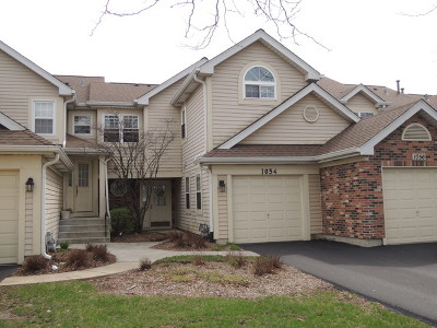 Carol Stream Condo/Townhouse For Sale: 1054 Lakewood Circle #7-3