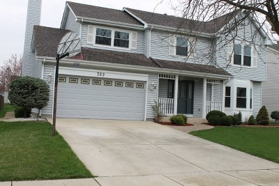 Carol Stream Single Family Home Contingent: 733 Thunderbird Trail