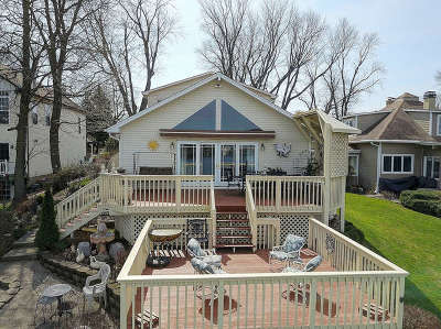 Fox Lake Single Family Home For Sale: 4 North Lake Avenue