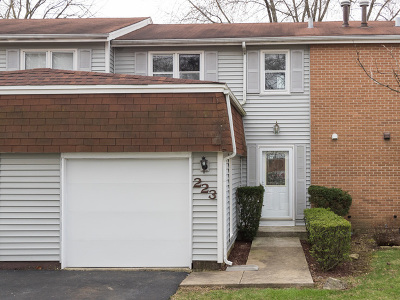 Bolingbrook Condo/Townhouse Price Change: 223 Monroe Road