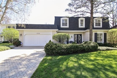 Highland Park Single Family Home For Sale: 1735 Sherwood Road