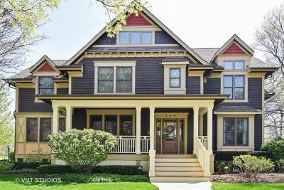 Glen Ellyn Single Family Home For Sale: 529 Bryant Avenue