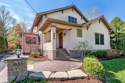 Glen Ellyn Single Family Home For Sale: 635 Hill Avenue