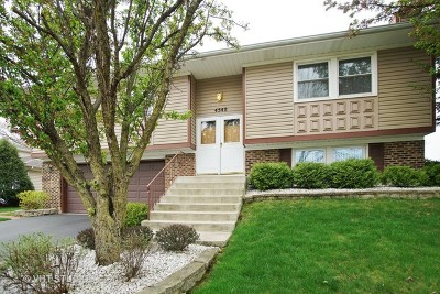 Hoffman Estates Single Family Home Contingent: 4548 Thornbark Drive