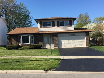 Lombard Single Family Home Contingent: 438 Manor Hill Lane