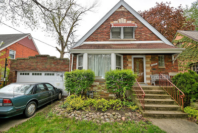 Evergreen Park Single Family Home Re-activated: 3223 West 97th Street