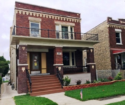 Franklin Park Multi Family Home For Sale: 2847 Pearl Street