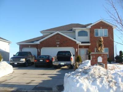Monee Single Family Home Contingent: 26123 Countyfair Drive