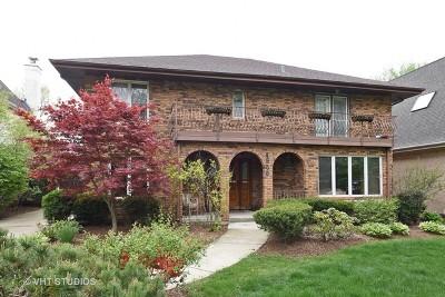 Western Springs Single Family Home For Sale: 4530 Harvey Avenue