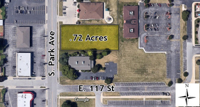 South Holland Residential Lots & Land For Sale: 17055 South Park Avenue