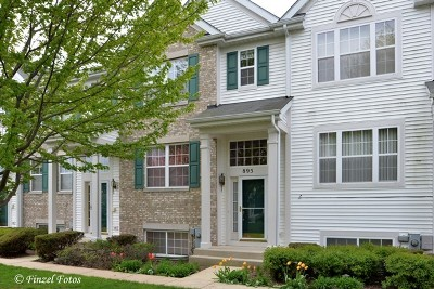 Pingree Grove Condo/Townhouse Contingent: 895 Emerald Drive