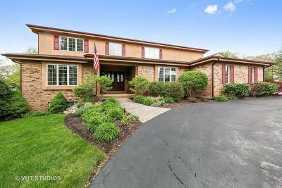 Burr Ridge Single Family Home Contingent: 6810 County Line Lane