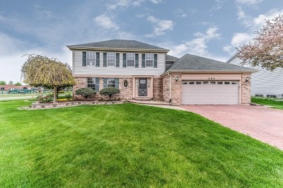Carol Stream Single Family Home Contingent: 1109 Oak Wood Drive