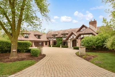 Oak Brook Single Family Home For Sale: 707 Deer Trail Lane