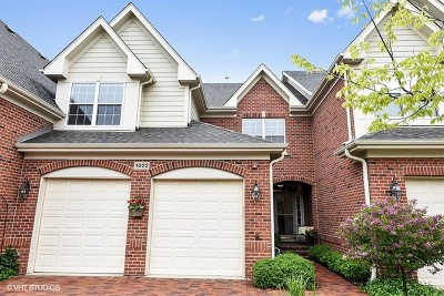 Western Springs Condo/Townhouse For Sale: 1022 Hickory Drive