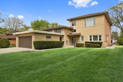 Wilmette Single Family Home For Sale: 634 Lamon Avenue