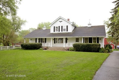 Johnsburg Single Family Home Contingent: 2509 West Johnsburg Road