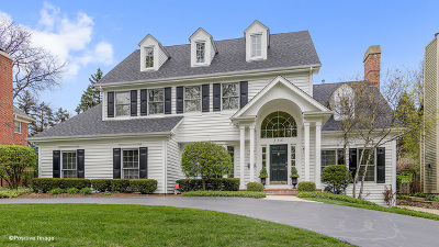 Clarendon Hills Single Family Home Contingent: 336 Harris Avenue