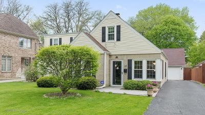 Clarendon Hills Single Family Home Contingent: 12 Hiawatha Drive