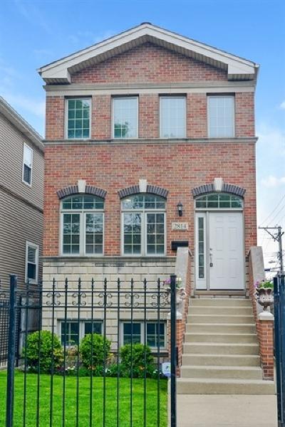 Chicago Single Family Home For Sale: 2814 West Wellington Avenue