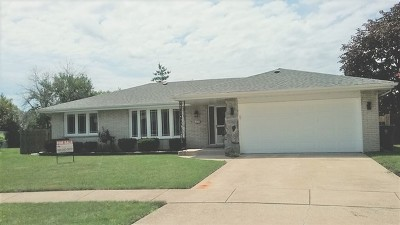 South Holland Single Family Home For Sale: 16650 Woodlawn East Court
