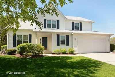 Lake Zurich Single Family Home Contingent: 455 Thistle Lane