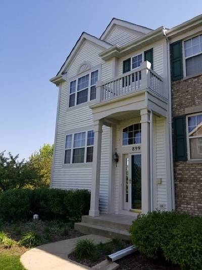 Pingree Grove Condo/Townhouse Contingent: 899 Emerald Drive