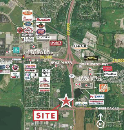 Crystal Lake Residential Lots & Land For Sale: Il Route 31 Highway