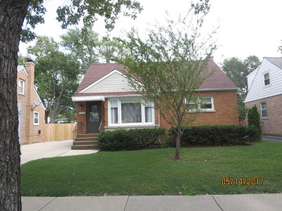 Niles Single Family Home For Sale: 7939 North Harlem Avenue