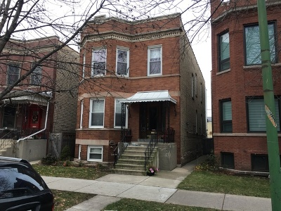 Chicago Multi Family Home Contingent: 2308 West Giddings Street