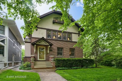 Wilmette Single Family Home For Sale: 1015 Forest Avenue