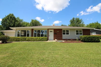 Hoffman Estates Single Family Home For Sale: 50 Westview Street