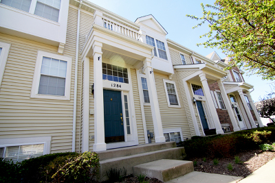 Pingree Grove Condo/Townhouse Contingent: 1284 Shamrock Lane #1284