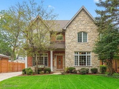 Western Springs Single Family Home Re-activated: 5217 Fair Elms Avenue